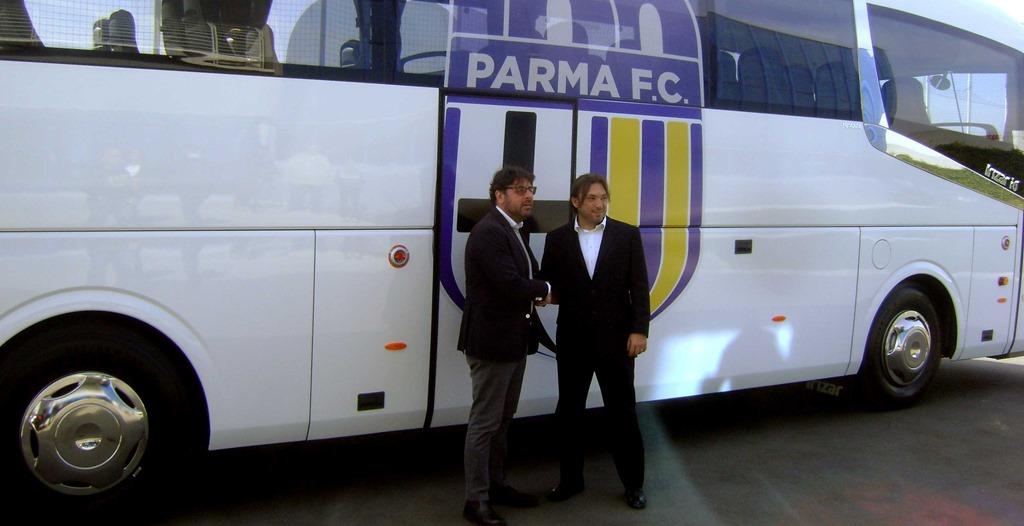 Pullman Parma Calcio - Val d'Enza Tours